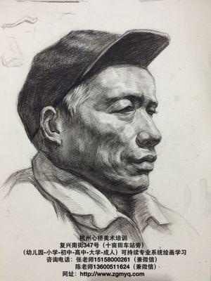 杭州心桥画室素描