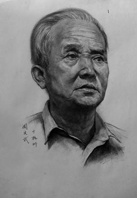 杭州心桥画室素描头像