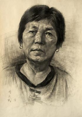 杭州心桥画室素描头像2